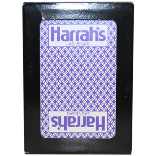Playing Cards from the Black Jack or Poker Tables in Las Vegas; Harrah's Casino