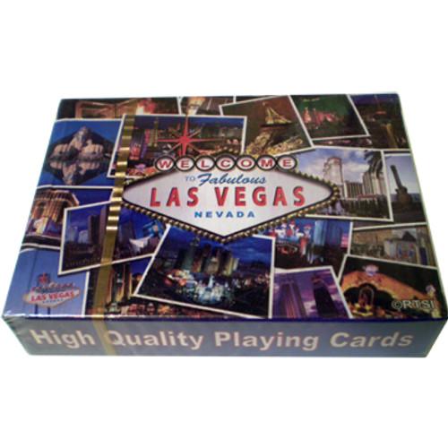 Las Vegas Postcard Design Playing Cards