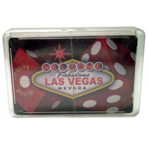 """""""Dice"""" Las Vegas Playing Cards"""
