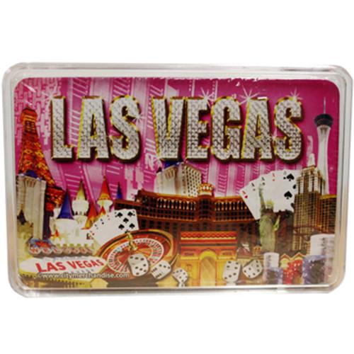 Pink Diamonds Las Vegas Playing Cards