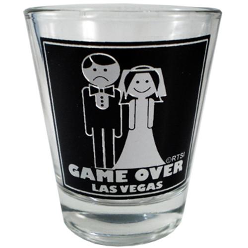 Game Over Las Vegas Shotglass