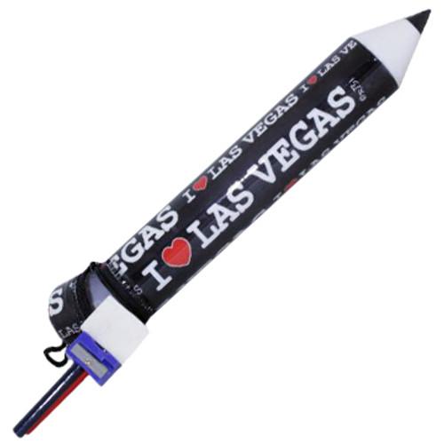 Las Vegas Pencil Holder Gift Set
