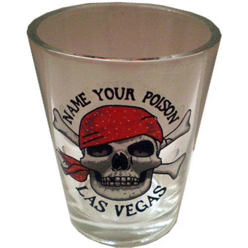 Name Your Posion Las Vegas Shotglass