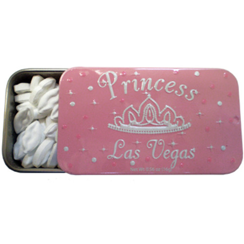Princess Las Vegas collectable Tin of Mints