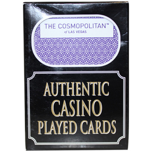 Cosmopolitan Las Vegas Poker-Black Jack Playing Cards.