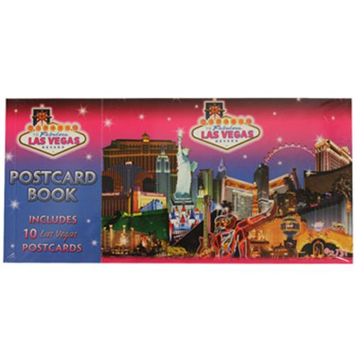 Las Vegas Celebrate Postcard Set of 10