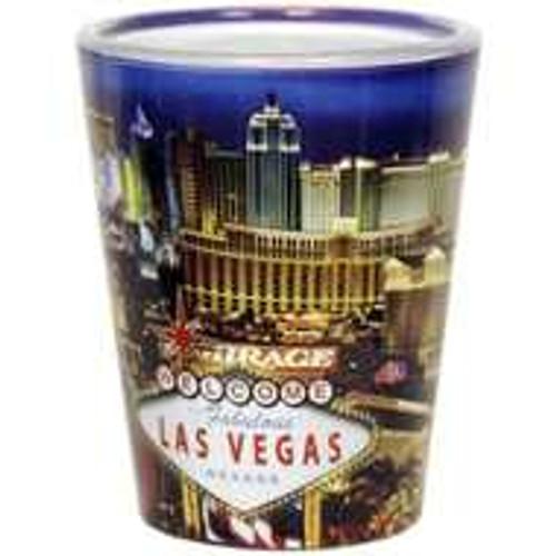 Las Vegas Shotglass- Souvenir From the Las Vegas Strip