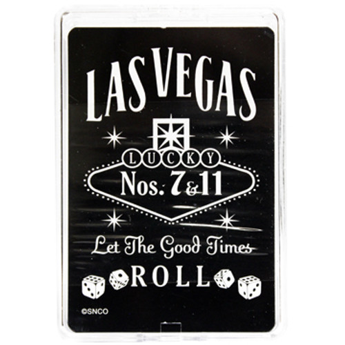 Las Vegas Black Let The Good Times Roll Playing Cards