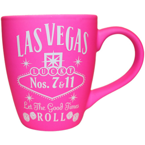 Las Vegas PINK Whisky 12oz Harbour Mug