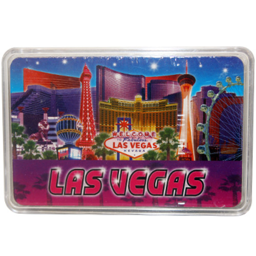 """""""Blue and Purple"""" playing cards Las Vegas"""