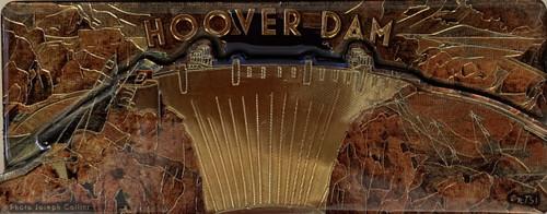 3D Magnet of the Hoover Dam Souvenir