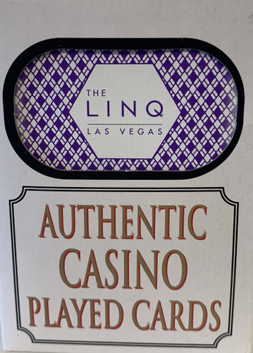 The Linq Casino Las Vegas Poker-Black Jack Playing Cards.