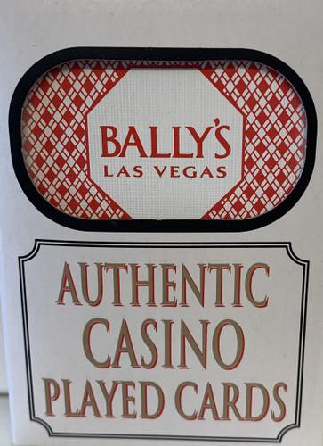 Bally's Las Vegas Poker-Black Jack Playing Cards.