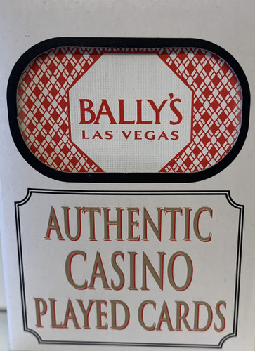 Bally's Las Vegas Poker-Black Jack Playing Cards.