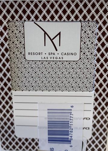 M Resort Las Vegas Poker-Black Jack Playing Cards.