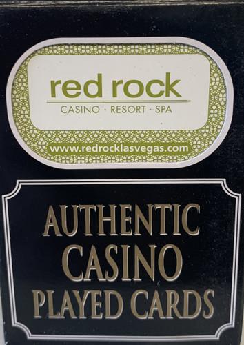 Red Rock Resort  Las Vegas Poker-Black Jack Playing Cards.