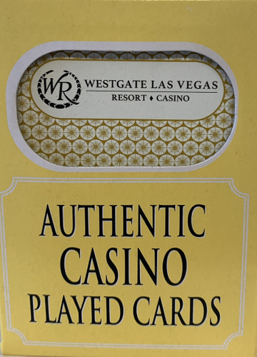 Westgate Resort  Las Vegas Poker-Black Jack Playing Cards.