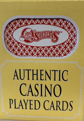 O'Sheas Las Vegas Poker-Black Jack Playing Cards.