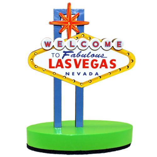 Mini Las Vegas Sign that lights up. Colorful and Fun souvenir