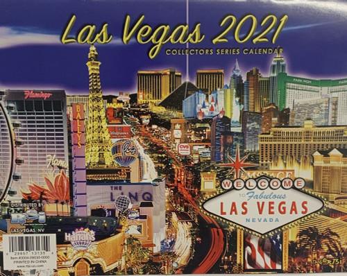 Las Vegas Calendar 2022.2021 Las Vegas Collector Series Calendar 2021