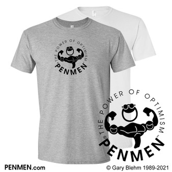 T-Shirt, The Power of Optimism, by PENMEN