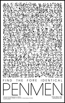 Find the Fore Identical PENMEN® - 11 x 17 - 1993