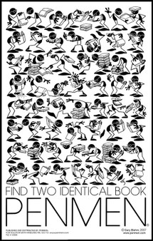 Find Two Identical Book PENMEN® - 11 x 17