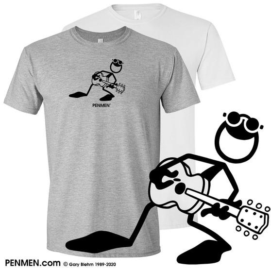 T-Shirt, PENMEN Acoustic Guitar Player