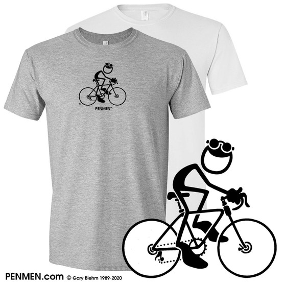 Bicycle cycling Cotton T-Shirt by PENMEN