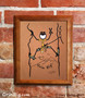 Climbing Screen Print by Grin Big!™ Outdoors Signed by the Artist, Gary Blehm