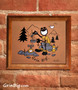 Camping Screen Print by Grin Big!™ Outdoors Signed by the Artist, Gary Blehm