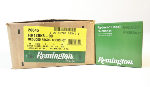 Remington Reduced Recoil Buckshot