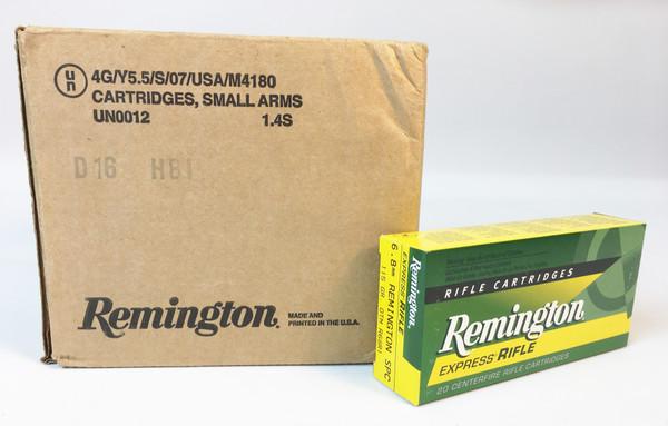 Remington Express Rifle Cartridges