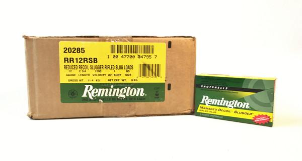 Remington Managed-Recoil Slugger Rifled Slug