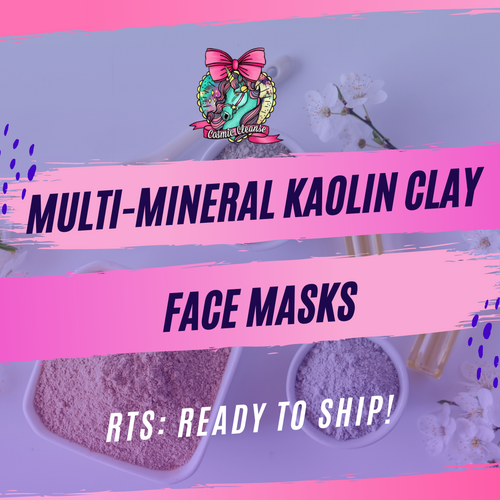 RTS Multi Mineral Face Masks