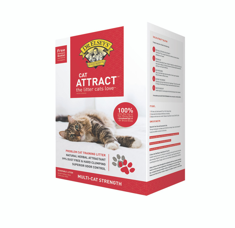 """Dr. Elsey""""s Cat Attract Scoopable Cat Litter 20lb"""