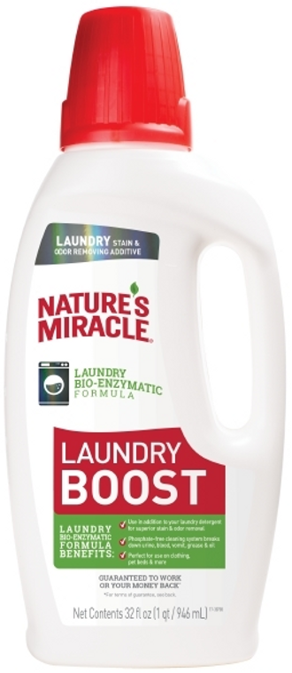 32oz Nature's Miracle Laundry Boost Stain Remover