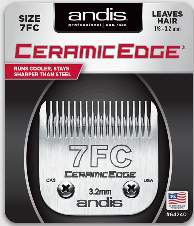 Andis CeramicEdge Detachable Blade Size 7FC