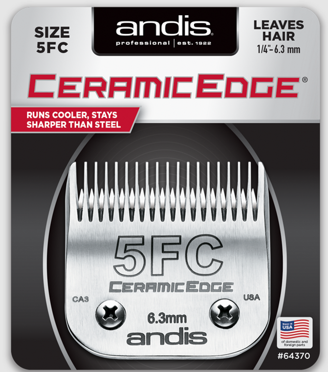 Andis CeramicEdge Detachable Blade Size 5FC