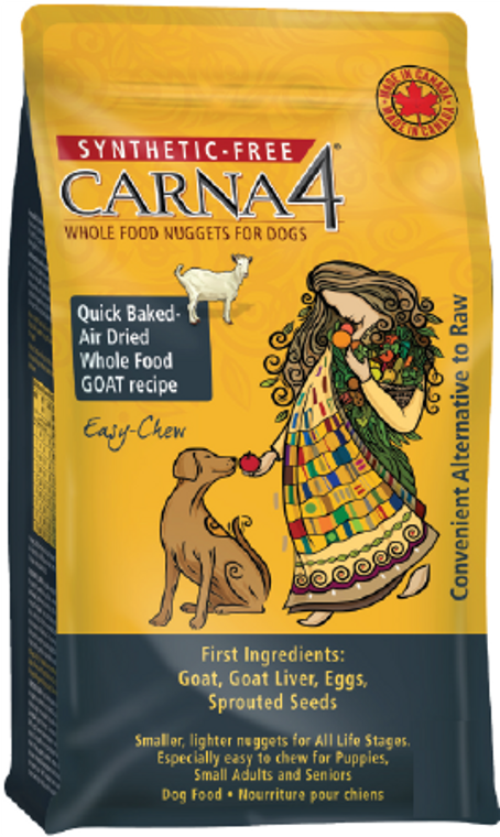 Carna4 GF Goat Dog Dog Food 20lb