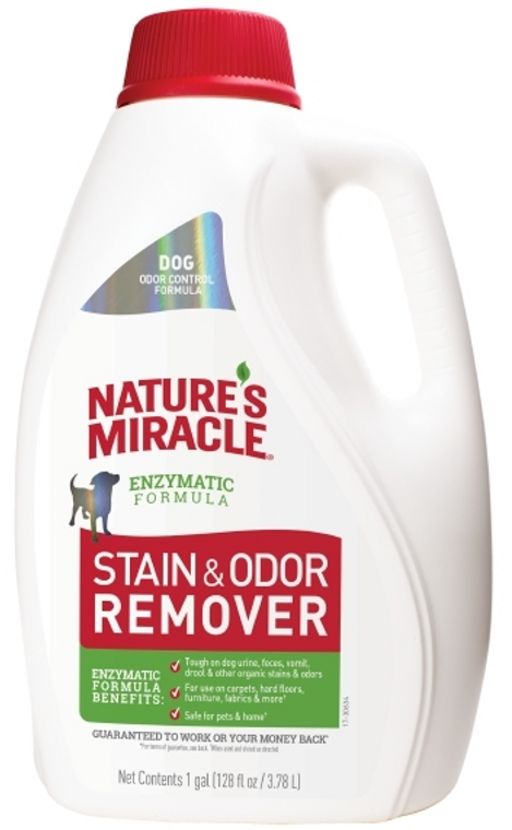 1 Gallon Nature's Miracle Stain & Odor Eliminator