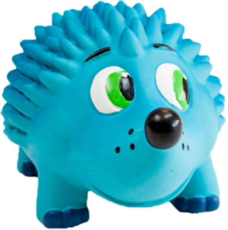 Outward Hound Large Blue Hedgehog Tootiez  Dog Toy