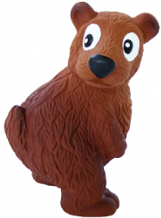 Outward Hound Small Brown Bear Tootiez Dog Toy