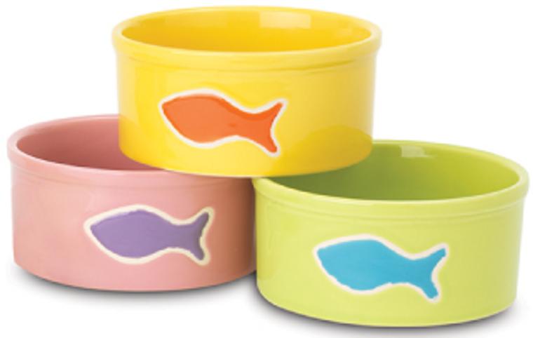 """Petrageous 5"""" Teeny Tiny Fish Water Dish"""