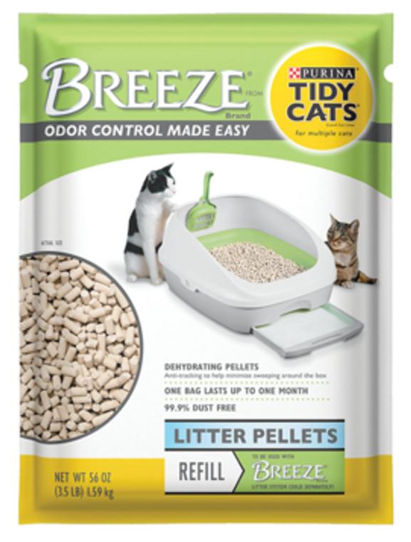 Tidy Cat Breeze Litter Pellets Cat Litter 3.5lb