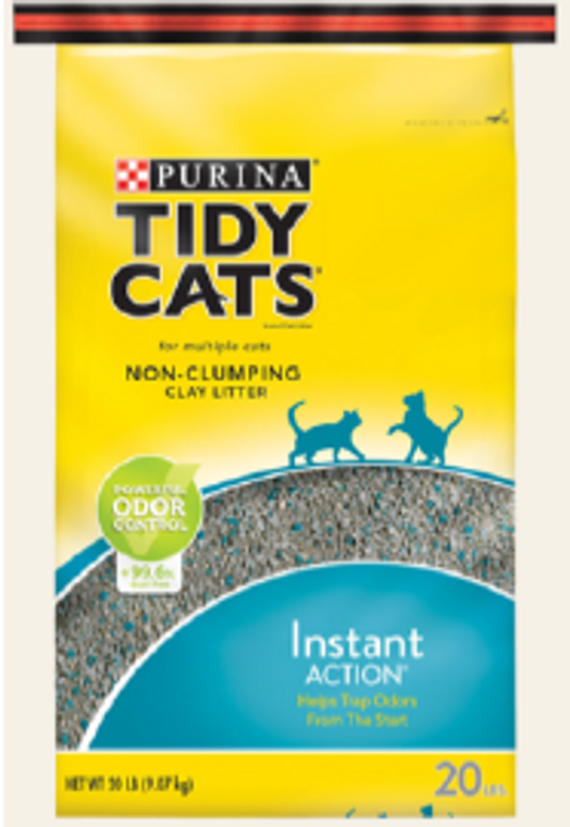 Tidy Cats Instant Action Clay Cat Litter 20lb