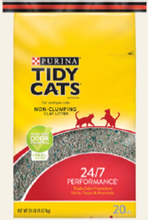 Tidy Cats Non-Clumping Clay Cat Litter 20lb