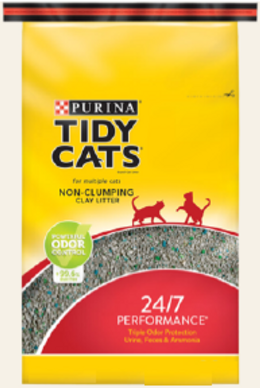 Tidy Cats Non-Clumping Clay Cat Litter 40lb