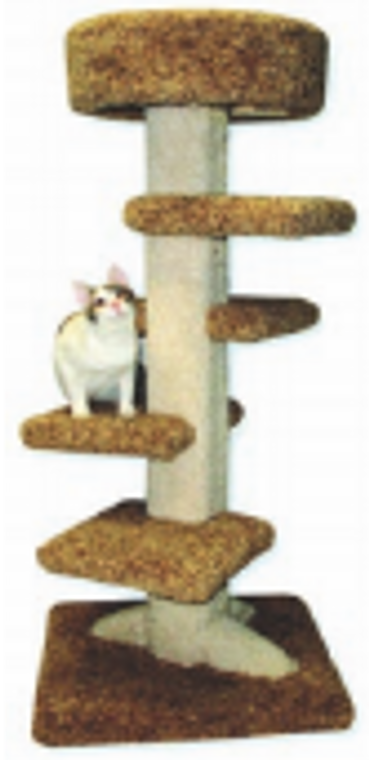 Beatrise Pet Products 4' Spiral Tower