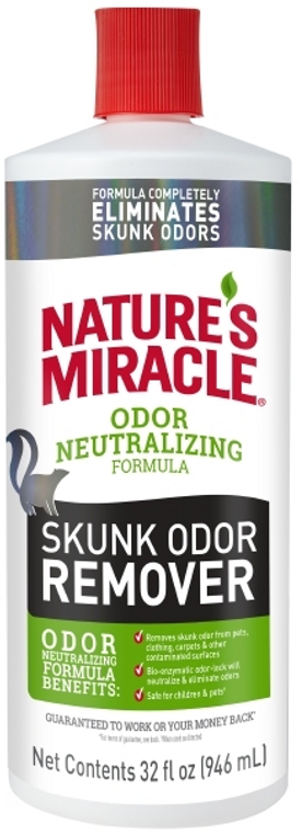 32oz  Nature's Miracle Skunk Remover